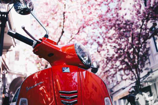 Frühling: Roller nach Standzeit fit machen